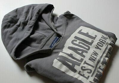 American Eagle Pullover Sweatshirt m.Kapuze Hoody 3/4 Ärmel  Gr. S 32 34 36 Ärmel Pullover Hoody