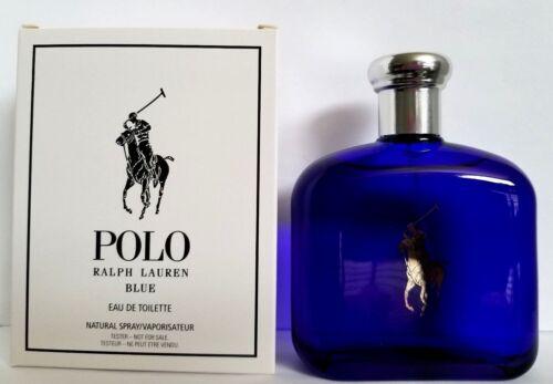 Ralph Lauren POLO BLUE EAU DE TOILETTE 4.2oz Natural Spray in TSTR BOX
