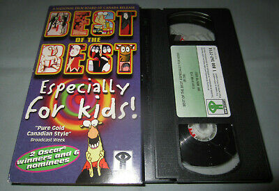 Best of the Best Especially For Kids! - NFB ONF Canada Animation VHS Video (Best Animation For Kids)