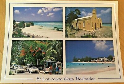 St Lawrence Gap, Barbados Caribbean Beaches Blue Sea. Unposted