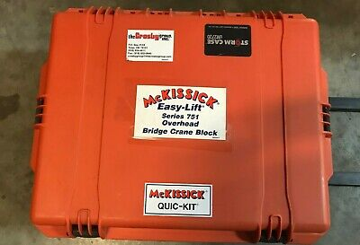Crosby Mckissick 1003542 Quic - Kit 2 Ton Series 751 Overhead Bridge Crane Block