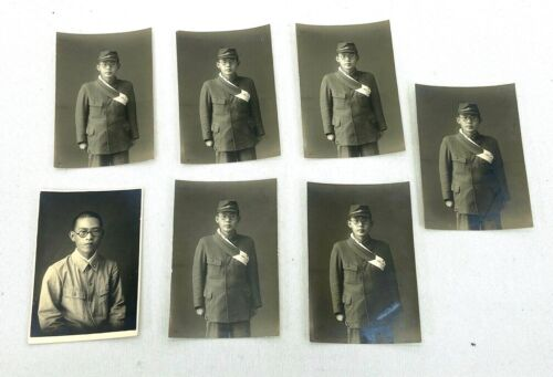 "Original WWII Japanese Army Soldiers ""Going To War"" Photo"