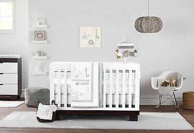 Just Born Baby Animal Kingdom 3-PC Crib Bedding Set, Safari/Neutral(DEFECTIVE)