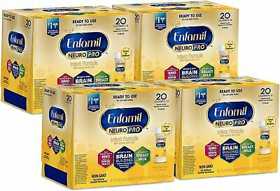 Enfamil NeuroPro Ready to Feed Baby Milk Based Infant Formula 66 Pack 2 fl oz