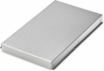 Adiroffice Aluminum Snapak Form Holder Clipboard Office Supply Storage 6 X 10