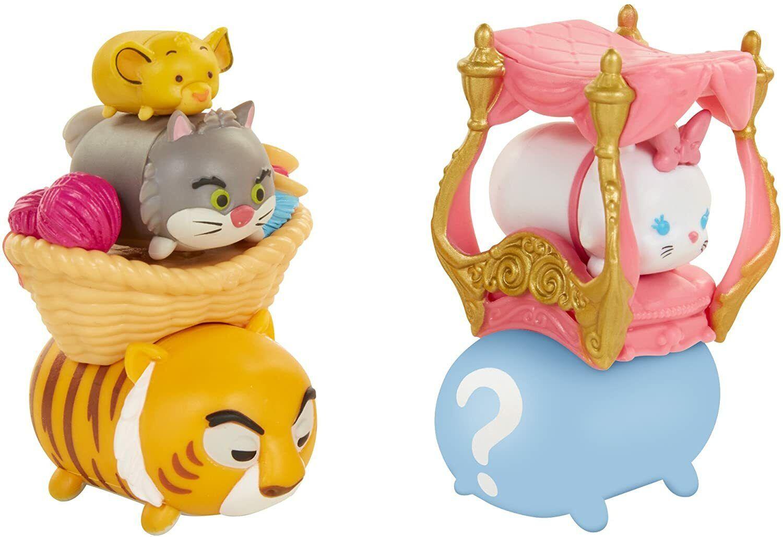 Tsum Tsum Disney 7 Pack Figures Series 7, Style #1, Cat Pack