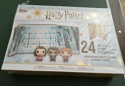 NEW Harry Potter Advent Calendar Funko Pop 2019 Limited Edition FACTORY SEALED