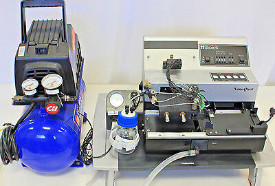 Biotek Nanoquot Microplate Dispenser W Air Compressor - 0.1ul-40ul
