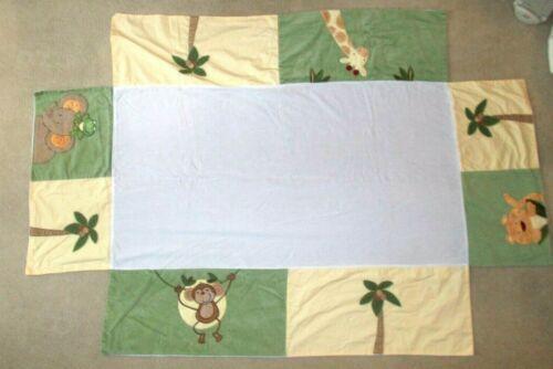 NoJo Jungle Safari Animal Crib skirt / Dust Ruffle