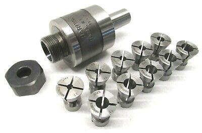 Nice Hardinge Tt Releasing Tap Holder W 58 Shank 10 Collet Set - Tt-58