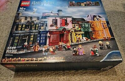 LEGO Harry Potter Diagon Alley 75978 NEW! In hand and sealed.