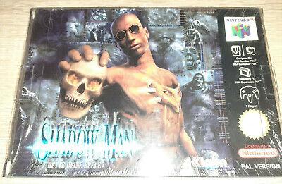 Shadow Man - Nintendo 64 - N64 Acclcaim PAL VGA WATA UKG ready CIB OVP New Neu