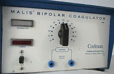 Codman Malis Bipolar Coagulator For Partsrepair