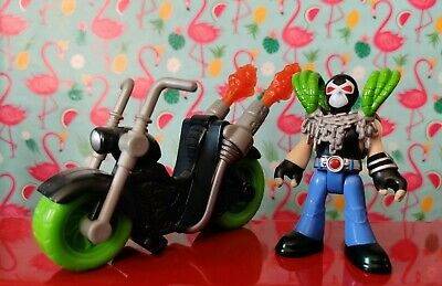 Imaginext Bane and Motorcycle