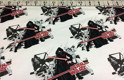 STAR WARS  THE FORCE AWAKENS   IMPERIAL SHIPS  CAMELOT FABRICS    FAT QUARTER