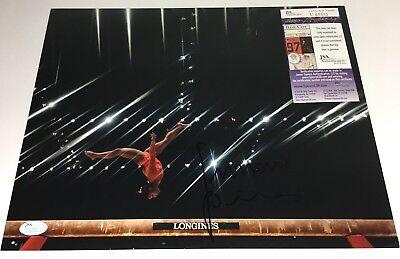Simone Biles Signed Autographed 11X14 Photo Olympics Gold Rio Usa Us Jsa Coa 3