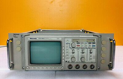 Tektronix Tds460a Digitizing Oscilloscope Wopts 2f1r For Parts Repair