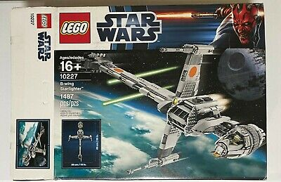 LEGO Star Wars B-Wing Starfighter (10227) Open Box - New in Box NIB