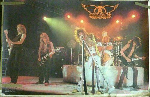 VERY RARE AEROSMITH STAGE 1979 VINTAGE ORIGINAL MUSIC POSTER