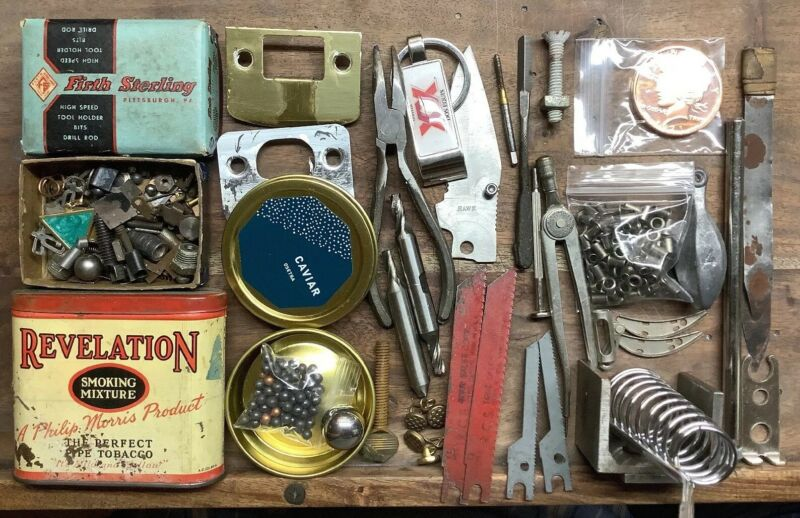 Metal Lot / Assorted Stuff for Crafts & Creative Projects S29