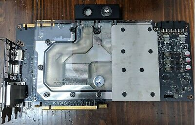 EVGA GeForce GTX 780 Ti CLASSIFIED 3GB & EK-FC780 Plexiglass Water Cooling Block