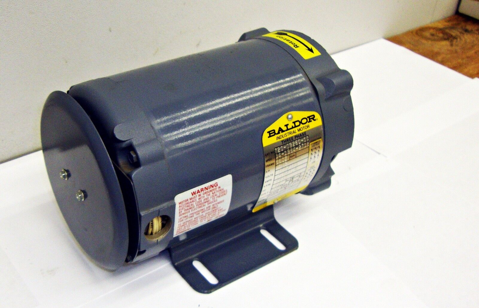 Sls1b12 New Baldor Industrial Electric Motor 1 2 Hp Cat