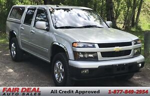 2011 Chevrolet Colorado LT: 4WD/Canopy/Tow Package