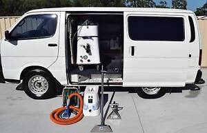 CARPET STEAM CLEANER & GENERATOR MOUNTED IN TOYOTA HI ACE VAN Burpengary Caboolture Area Preview