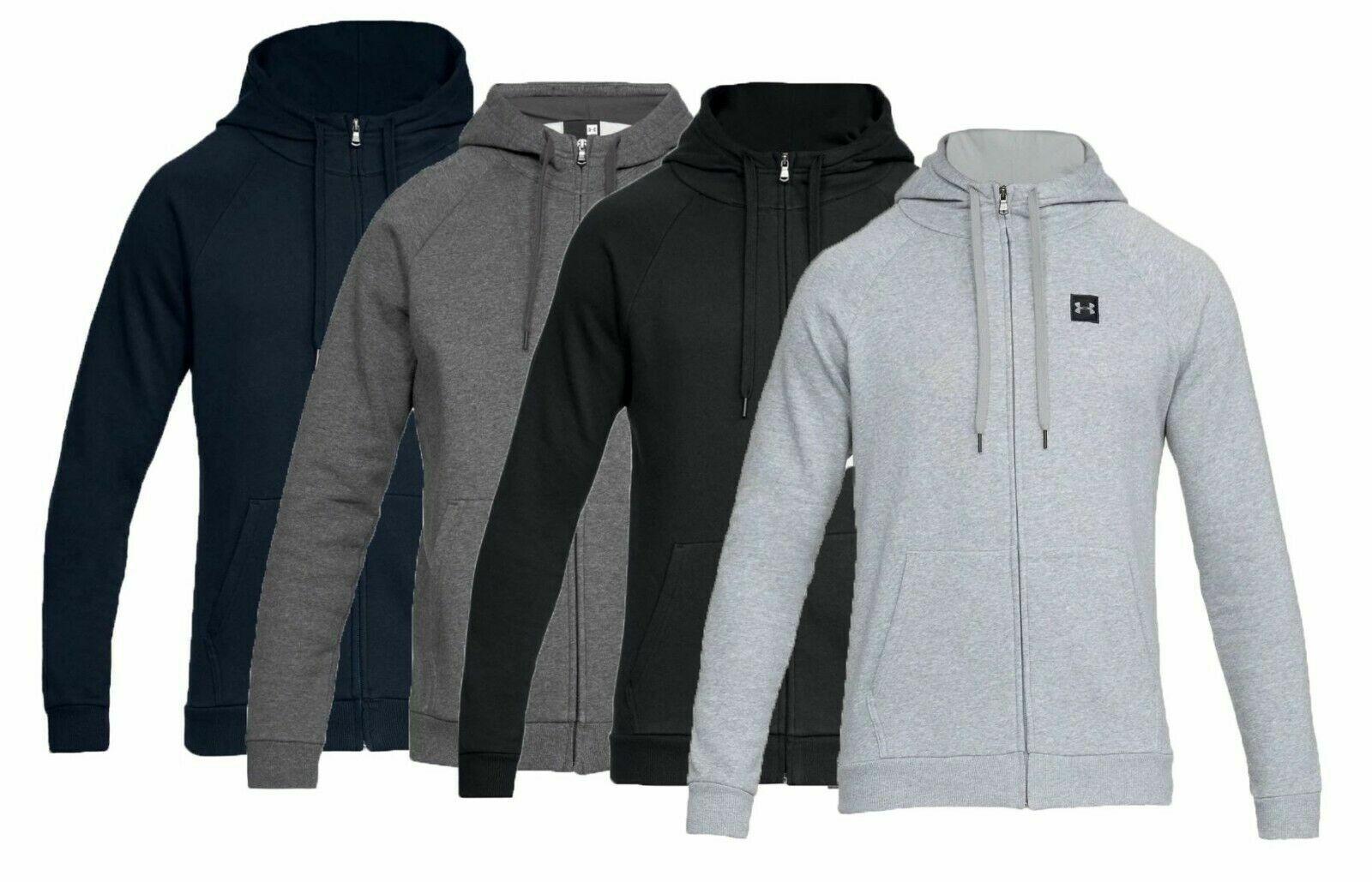 men s rival fleece full zip hoodie