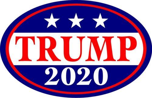 "TRUMP car magnet Donald Trump President 2020 - Magnetic Bumper Sticker 5.5""x3.5"""