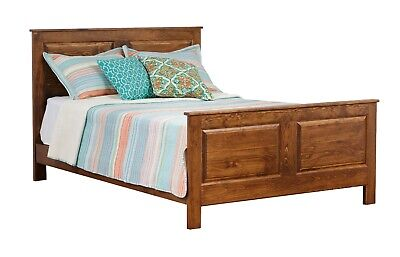 AMISH Made Solid UNFINISHED PINE - KING Size HEADBOARD ONLY - Rustic Primitive