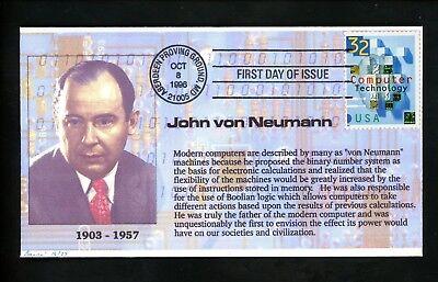 Us Fdc Barre  3106 Computer Technology John Neumann 16 27 Aberdene Md 1996