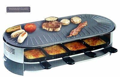 Raclettegerät 8 Pers. Solis 2 in 1 Party Grill Pro 8  * Einmalige Sonderaktion *