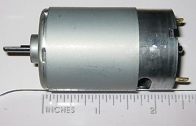 Mabuchi 555 12v Dc Motor - Printer Portable Drill Robotics Hobby Motor
