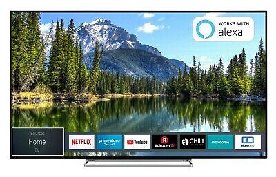 Toshiba 50VL5A63DG 50 Zoll 4K UHD Fernseher Smart TV HDR Dolby Vision HDR Onkyo