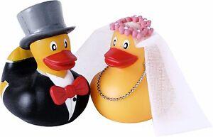 Badeente Enten Brautpaar Hochzeitspaar Braut Bräutigam Ente Gummiente Hochzeit