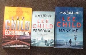 Lee Child - Jack Reacher Novels Haberfield Ashfield Area Preview