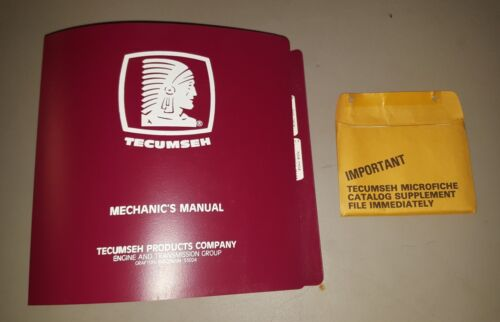 1995 Tecumseh 693029 Mechanic