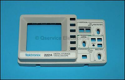 Tektronix Front Plastic Frame For 222 222a 224 Digital Portable Oscilloscopes