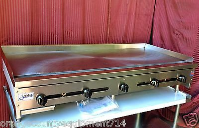 New 60 Griddle 5 Flat Grill 1 Plate Gas Stratus Smg-60 1256 Manual Commercial