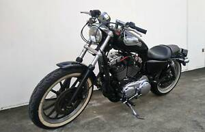 Harley Davidson XL1200 Sportster Custom with S&S Pipes Rego Yatala Gold Coast North Preview