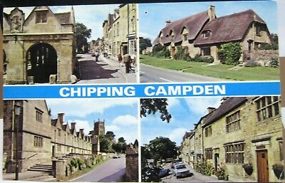 England Chipping Campden Alms Houses Cottages - posted 1984