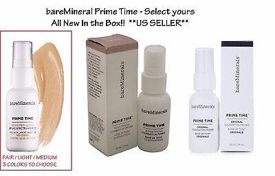 Prime Time Foundation Primer (bareMinerals Prime Time Foundation Primer 30 ml - Choose Color )
