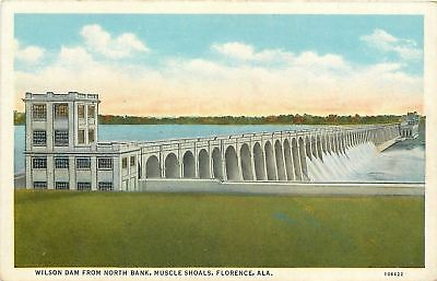 Florence Alabama Muscle Shoals Wilson Dam North Bank Power House 1930S