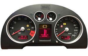 Audi TT Tacho Kombiinstrument 8N Pixelfehler FIS LCD MFA Display Reparatur