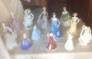 ROYAL DOULTON and COALPORT Lady Figurines Cootamundra Cootamundra Area Preview