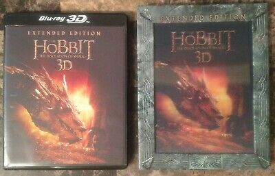 The Hobbit Desolation of Smaug 5-Disc Blu-ray 3D Set Extended Ed w