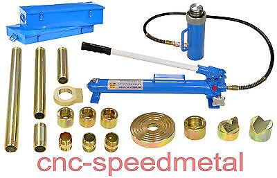 Ausbeulsatz Ausbeulwerkzeug Karosserie 7teilig Hydraulikzylinder CRS7PJ 02389