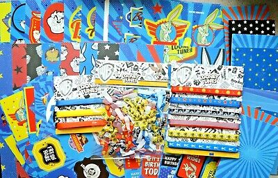Looney Tunes Die Cut Medley Card Making Kit Decoupage/Papers/Toppers/Ribbons etc