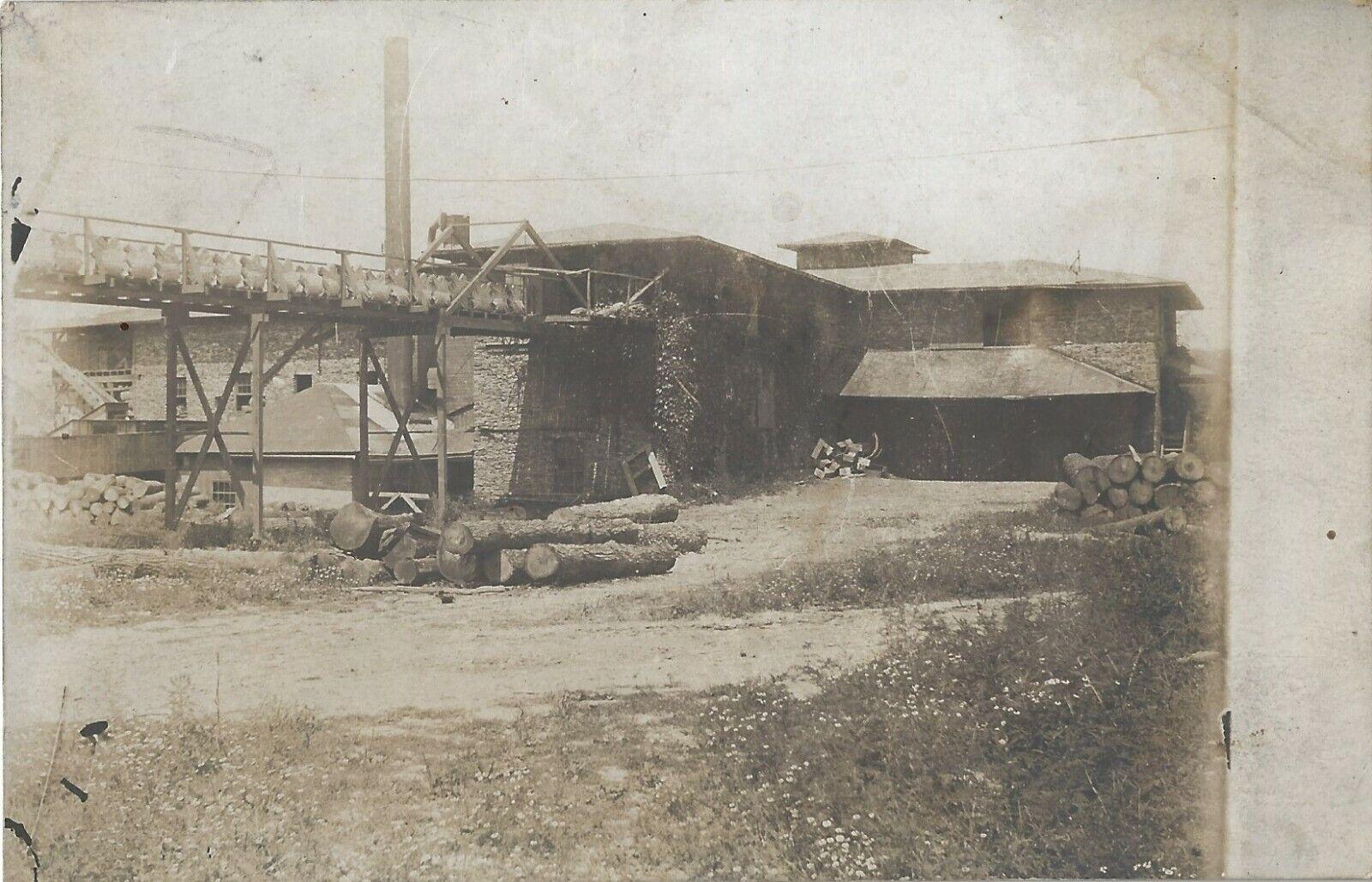 RPPC PENN YAN WINDNAGLE BASKET FACTORY YATES CO NY 1928 REALPHOTO POSTCARD KEUKA - $8.99